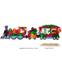 Wooden Jigsaw - Alphabet Train