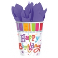 Radiant Birthday - Cups