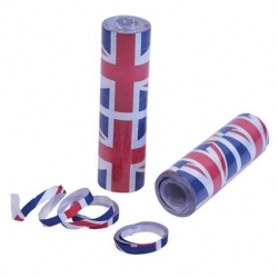 Union Jack Streamers 4m