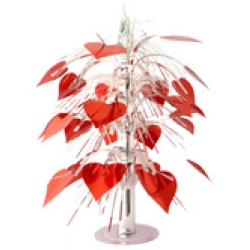 Red Heart Table Centrepiece