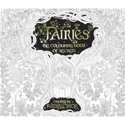Fairies the book of secrets colouring book