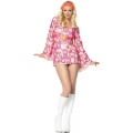 Adult Sexy Retro Peace 60s Costume