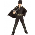 Child Standard Zorro Super Hero Costume