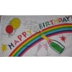 Happy Birthday Flag