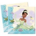Lunch Napkins - Disney Princess & The Frog