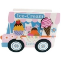 Ice Cream Van Shape Sorter | Tiddlytots Wooden Shapes