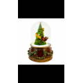 Limited Edition Snow Globes: Tree, Santa Sledge and Reindeers: Musical