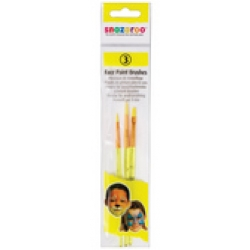 Snazaroo face Paint Brushes(pk3)