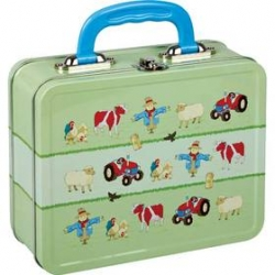 Farm Tin Lunch Box
