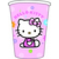 Hello Kitty Flowers Cups