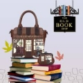 The Book Shop Mini Tote Bag