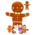 Gingerbread Man Hand/Finger puppets