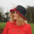Zara - Wax/Suedette Black red