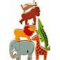 World /Zoo animals in a bag (set of 6)