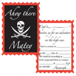 Pirate Invites