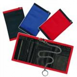 Wallet with Safety Chain