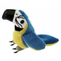 Finger Puppet: Blue and Gold maccaw