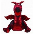 Enchanted Red Dragon Handpuppet
