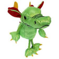 Dragon - Green - Finger Puppets