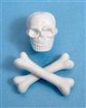 Skull and crossbones eraser