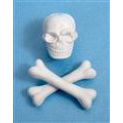 Skull and crossbones eraser